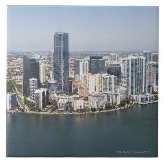 Miami Skyline Ceramic Tile