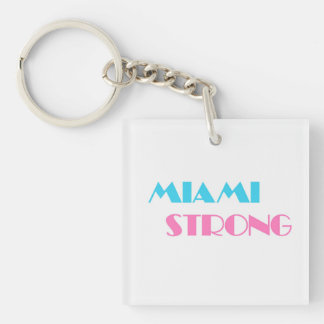 Miami Strong keychain