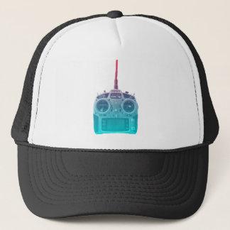 Miami Style Blue/Pink Spektrum RC Radio Trucker Hat