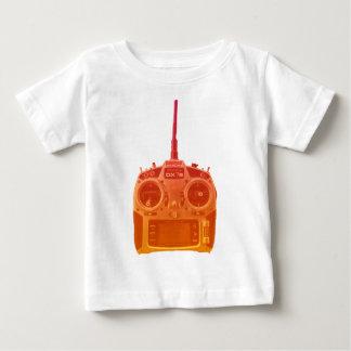 Miami Style Orange/Red Spektrum RC Radio Baby T-Shirt