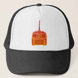 Miami Style Orange/Red Spektrum RC Radio Trucker Hat