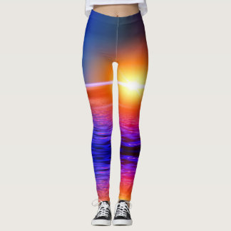 Miami Sunset Leggings