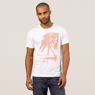 Miami To Diani Kite Surfer Island T-Shirt Pink