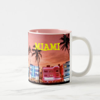 MIAMI Two-Tone COFFEE MUG