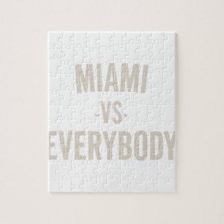 Miami Vs Everybody Jigsaw Puzzle