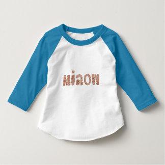 Miaow Toddler Raglan T-Shirt