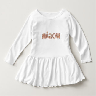 Miaow Toddler Ruffle Dress