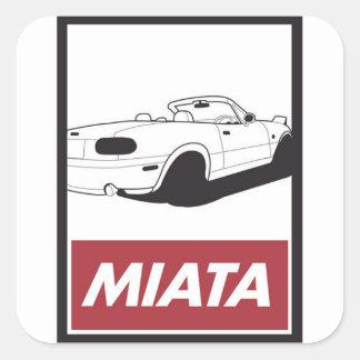 Miata Portrait Stickers