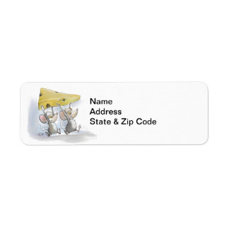 Mic & Mac Bringing In The Cheese Address Labels