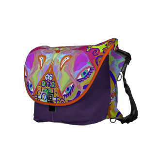 """Micaela"" Rickshaw Messenger bag by MAR"