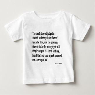 Micah 3:11 baby T-Shirt