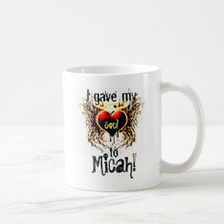Micah I gave my Heart to Mug
