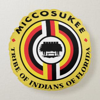 Miccosukee Tribe Round Pillow