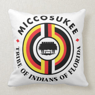 Miccosukee Tribe Throw Pillow