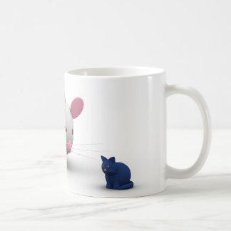 Mice And Cat Game Coffee Mug