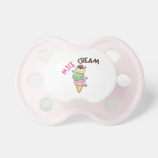 Mice Cream Pacifier