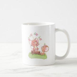 Mice having a little summer fun coffee mug