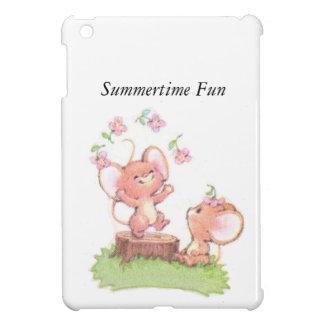 Mice having a little summer fun iPad mini covers