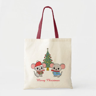 mice of Christmas Tote Bag