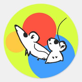 Mice Spots - Stickers