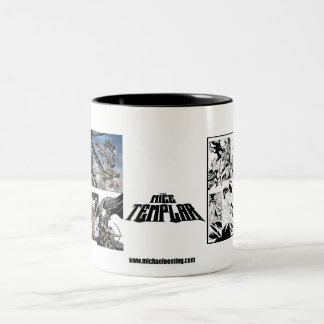 Mice Templar Mug black and white vs color!