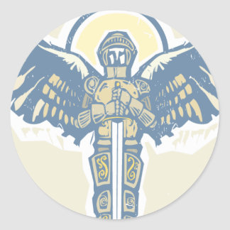Michael Archangel Classic Round Sticker