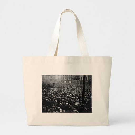 Michael Collins Free State Demonstration 1922 Tote Bags