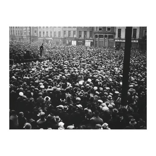 Michael Collins Free State Demonstration 1922 Canvas Prints