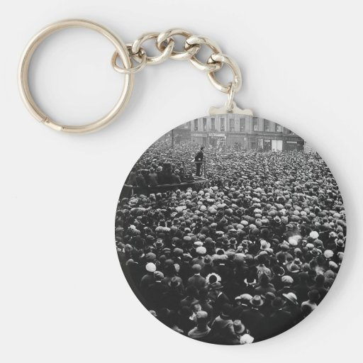 Michael Collins Free State Demonstration 1922 Key Chains