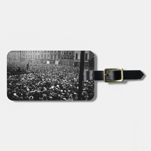 Michael Collins Free State Demonstration 1922 Bag Tag