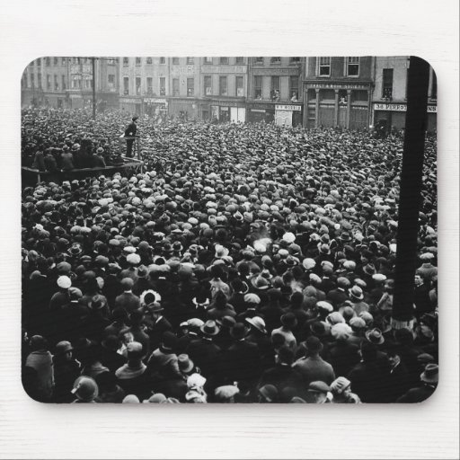 Michael Collins Free State Demonstration 1922 Mouse Pad