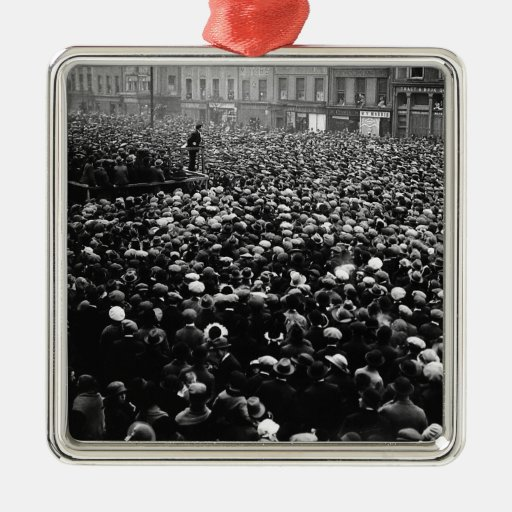 Michael Collins Free State Demonstration 1922 Christmas Ornament