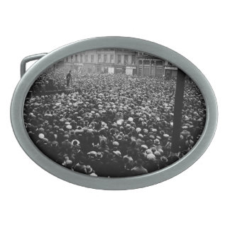 Michael Collins Free State Demonstration 1922 Oval Belt Buckle