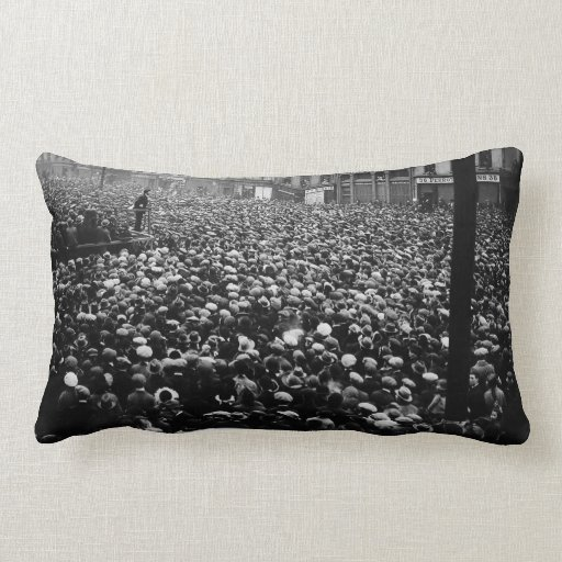 Michael Collins Free State Demonstration 1922 Throw Pillow