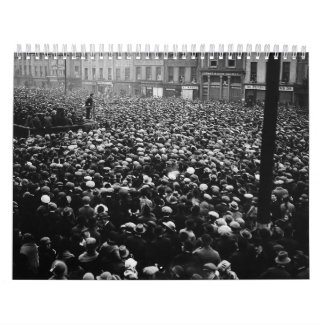 Michael Collins Free State Demonstration 1922 Wall Calendar