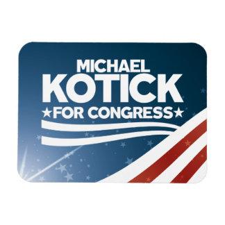 Michael Kotick for Congress Magnet