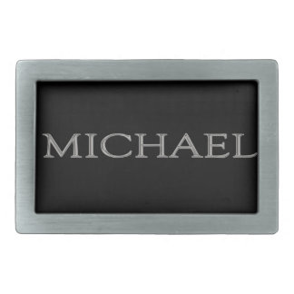 Michael Personalized Name Belt Buckle