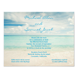 Michael Samuel RSVP 2 Card