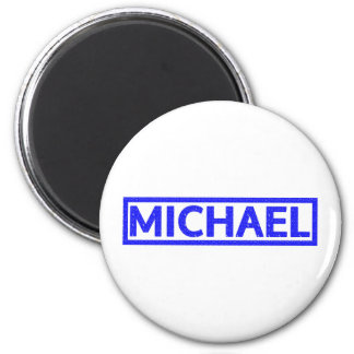 Michael Stamp 2 Inch Round Magnet