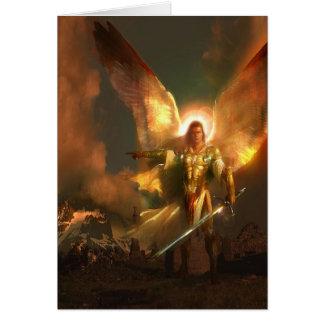 Michael the Archangel Card