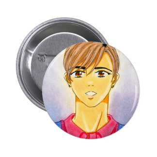 Michael Yoon Button-Me 2 Inch Round Button
