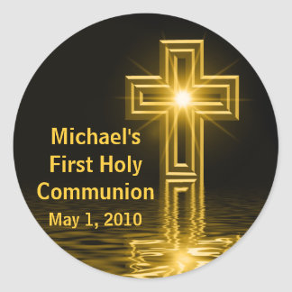 Michael's First Holy Communion Stickers