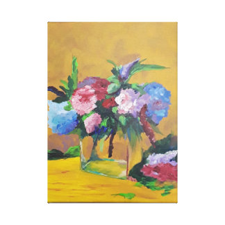 Michael's Hydrangas Canvas Print
