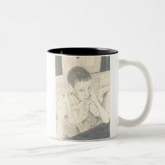Michaels Mug on a 2-Tone Mug