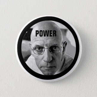 Michel Foucault 2 Inch Round Button