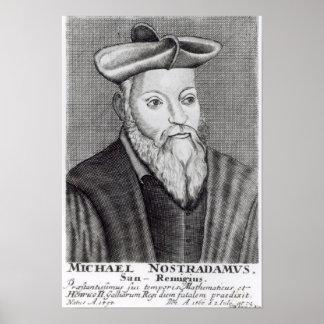Michel Nostradamus Poster