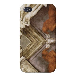 Michelangelo Bronze Nudes Sistine Chapel iPhone 4/4S Cover