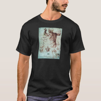 Michelangelo Buonarroti Studies for Libyan Sibyl T-Shirt