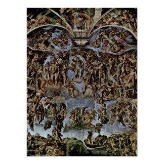 Michelangelo Buonarroti - The Last Judgement Poster