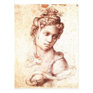 Michelangelo- Cleopatra Postcard